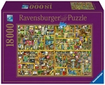 Ravensburger - 18000 piece - Thompson The Magical Bookcase-jigsaws-The Games Shop