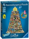 Ravensburger - 1000 piece - Thompson Ludicrous Lighthouse (shaped)-jigsaws-The Games Shop