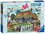 Ravensburger - 1000 piece - Country Cottage, Wisteria-jigsaws-The Games Shop