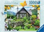 Ravensburger - 1000 piece - Country Cottage, Lakeland-jigsaws-The Games Shop