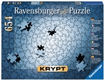 Ravensburger - 654 piece Krypt - Silver Spiral-jigsaws-The Games Shop