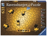 Ravensburger - 631 piece Krypt - Gold Spiral-jigsaws-The Games Shop