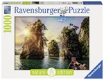 Ravensburger - 1000 piece Nature - The Rocks in Cheow, Thailand-jigsaws-The Games Shop