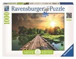 Ravensburger - 1000 piece Nature - Mystic Skies-jigsaws-The Games Shop