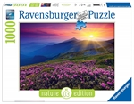 Ravensburger - 1000 piece Nature - Early Morning Mountains-jigsaws-The Games Shop