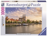 Ravensburger - 1000 piece - Old Town Regensburg-jigsaws-The Games Shop