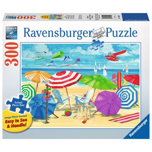 Ravensburger - 300 piece Large Format - Meet me at the Beach
