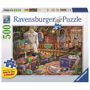 Ravensburger - 500 piece Large Format - The Attic