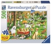 Ravensburger - 500 piece Large Format - At the Dog Park-jigsaws-The Games Shop