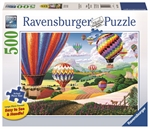 Ravensburger - 500 piece Large Format - Brilliant Balloons-jigsaws-The Games Shop