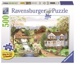 Ravensburger - 500 piece Large Format - Fishing Lesson-jigsaws-The Games Shop
