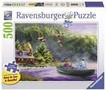 Ravensburger - 500 piece Large Format - Weekend Escape-jigsaws-The Games Shop