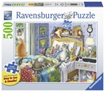 Ravensburger - 500 piece Large Format - Cat Nap-jigsaws-The Games Shop