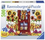 Ravensburger - 500 piece Large Format - Autumn Birds-jigsaws-The Games Shop