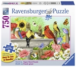 Ravensburger - 750 piece Large Format - Bathing Birds-jigsaws-The Games Shop