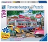 Ravensburger - 750 piece Large Format - Meet you at Jack's Diner-jigsaws-The Games Shop