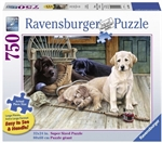 Ravensburger - 750 piece Large Format - Ruff Day-jigsaws-The Games Shop