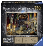 Ravensburger - 759 piece Escape - #6 Vampire Castle-jigsaws-The Games Shop