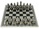 "Chess Set - Metal ""Hewitt""-chess-The Games Shop"