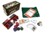 Poker Chips - 4g x 200 in tin-card & dice games-The Games Shop