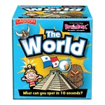Brainbox - The World-board games-The Games Shop