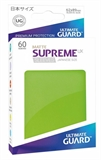 Ultimate Guard Sleeves Japanese Size - Matte Light Green-trading card games-The Games Shop