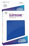 Ultimate Guard Sleeves Japanese Size - Matte Blue-trading card games-The Games Shop