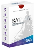 Ultimate Guard Sleeves Katana - Red-trading card games-The Games Shop