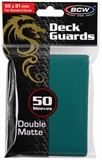 Standard Card Sleeves - BCW - 50 Matte Teal-trading card games-The Games Shop