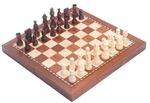 Magnetic Folding Timber Chess Set-chess-The Games Shop