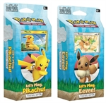 Pokemon - Theme Deck - Let's Play Evee/Pikachu -trading card games-The Games Shop