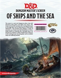 Dungeons and Dragons - Of Ships and the Sea DM Screen-gaming-The Games Shop