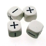 Fudge Dice - Set of 4-gaming-The Games Shop