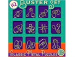 IQ Busters - Set of 12 Metal Puzzles-mindteasers-The Games Shop