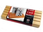 Card Holder - Wooden-card & dice games-The Games Shop