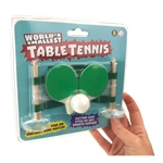 World's Smallest Table Tennis-quirky-The Games Shop