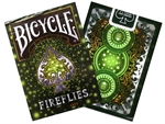 Bicycle - Fireflies Foil Deck-card & dice games-The Games Shop