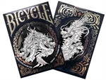 Bicycle - Dragon Foil Deck-card & dice games-The Games Shop