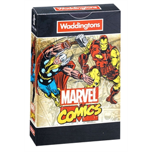 Marvel Comic Playing Cards