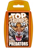 Top Trumps - Predators-card & dice games-The Games Shop