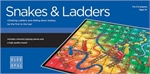 Snakes and Ladders (Blue Opal)-board games-The Games Shop