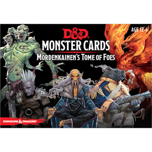 Dungeons and Dragons - Spellbook Cards - Mordenkainen's Tome of Foes