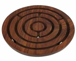 Wooden Labyrinth Ball Maze Puzzle-mindteasers-The Games Shop