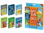 6 IN 1 Fun Pack of Card Games-card & dice games-The Games Shop