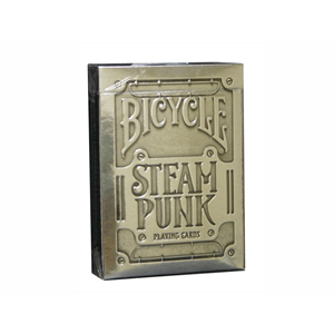 Bicycle - Steam Punk Silver Foil Cards