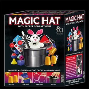 Theatrix Magic Hat Trick Set