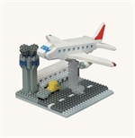 Nanoblock - Large Airport-construction-models-craft-The Games Shop