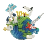Nanoblock - Deluxe The Earth-construction-models-craft-The Games Shop
