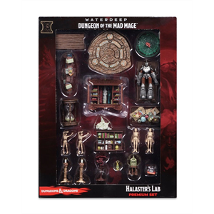 D&D  - Miniatures - Waterdeep of the Mad mage Halaster's Lab Premium Set