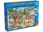 Holdson - 500 XL piece English Village 2 - Summer Fete-jigsaws-The Games Shop